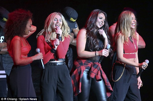 The next Spice Girls? Little Mix have been compared to the hugely successful 1990s girl band the Spice Girls in recent months and look set to go far