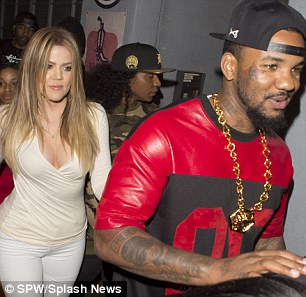 Together again: The E! star and the rapper were inseparable during night out
