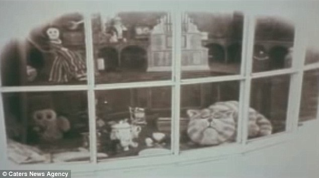 Shop window: Bagpuss was made to look as though it was filmed at the turn of the century, even though it was in fact 1974