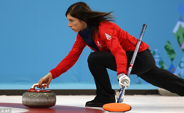 Fully focused: Muirhead and the GB team will be looking ahead to an encounter with Canada on Wednesday
