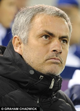Centre of attention: Mourinho