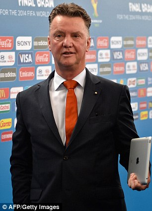 Want it? Louis van Gaal has also been linked with the job