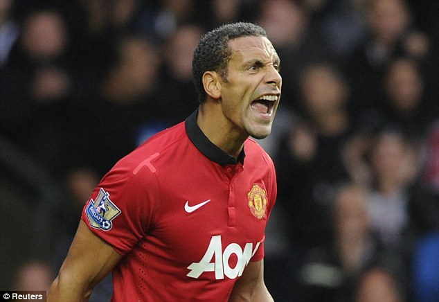 Over the hill? 30-year-old Ferdinand has spent most of the season sidelined by various injuries