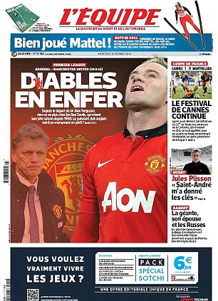 French newspaper L'Equipe