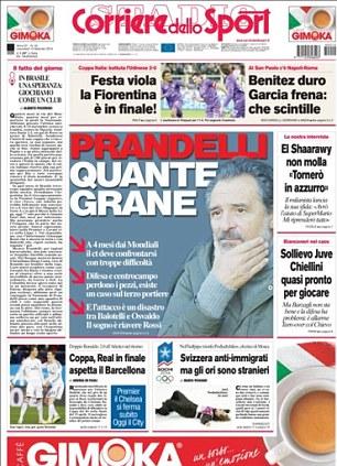 Italian newspaper Corriere dello Sport