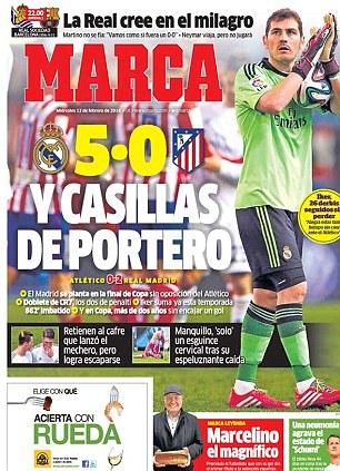 Spanish newspaper Marca