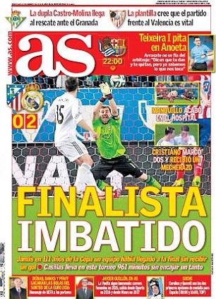 Spanish newspaper AS