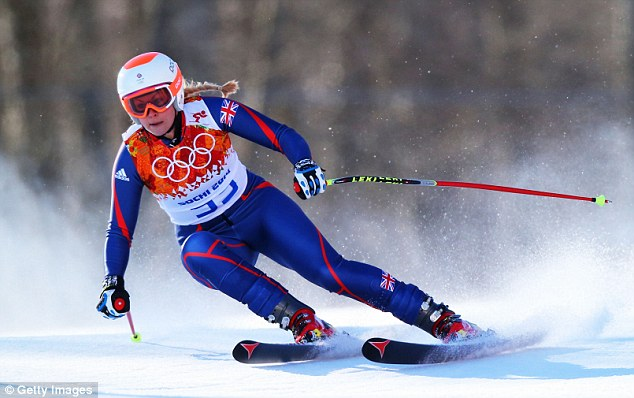Warrior: GB's Chemmy Alcott has come back from three leg breaks to compete in Sochi