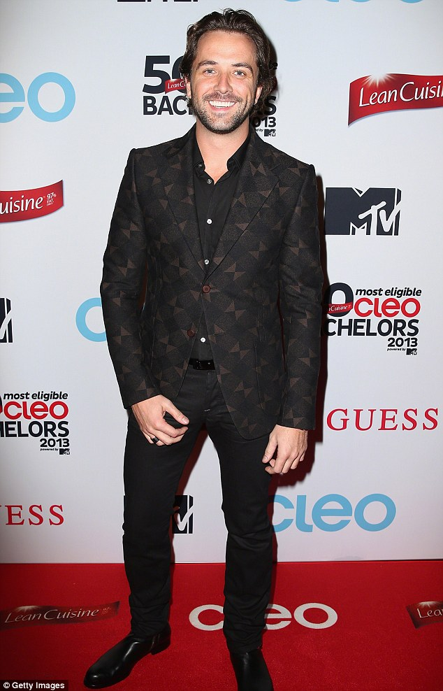 New gig: Scottish-born hunk Darren McMullen will join the cast of Logie Award-winning series House Husbands later this year