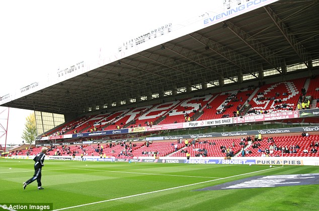 City Ground showdown: The home of Nottingham Forest has been pencilled in to stage the fight