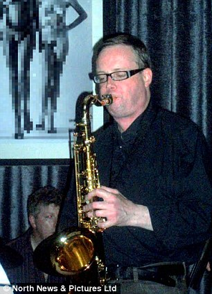Dated: 05/02/2014   Saxophonist Paul Gowland, who admitted having an affair with singer Heather Arthur. The pair had met only weeks earlier