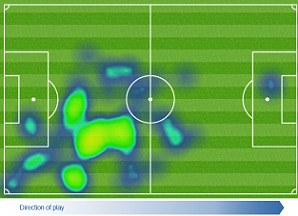 Chico Flores heat map