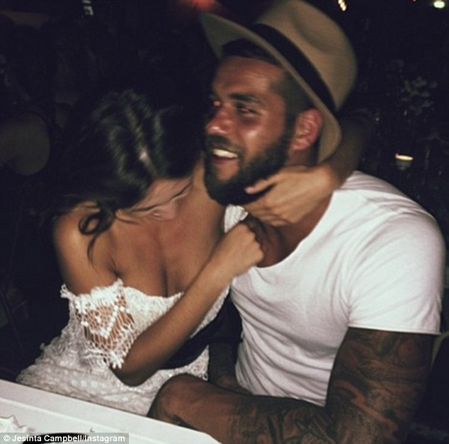 It's a celebration! Jesinta has been dating Buddy since October, and the two were recently seen celebrating his 27th birthday earlier this mont