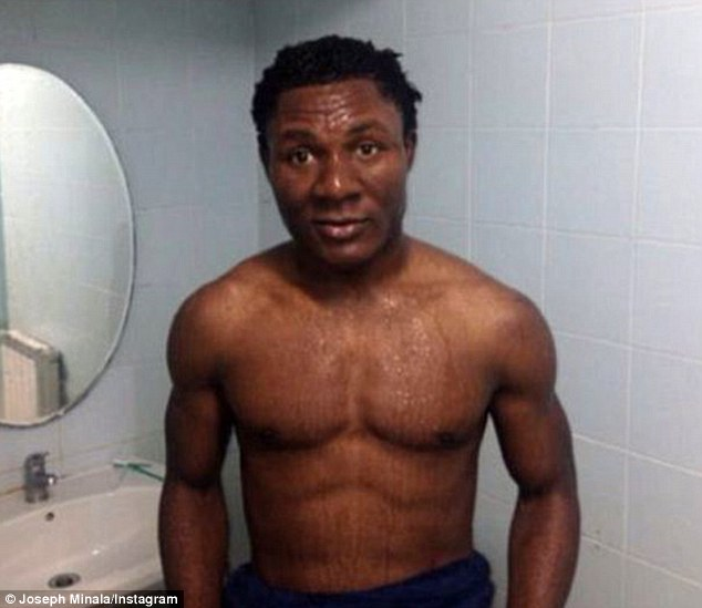 Documents: The club released official documents after Minala was the subject of abuse because of pictures he released on social networking sites - Minala has now deleted his Instagram and Facebook accounts