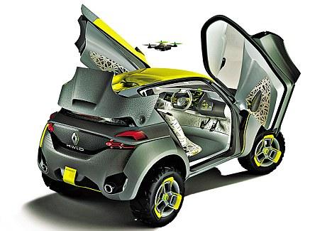 Renault's Kwid concept car