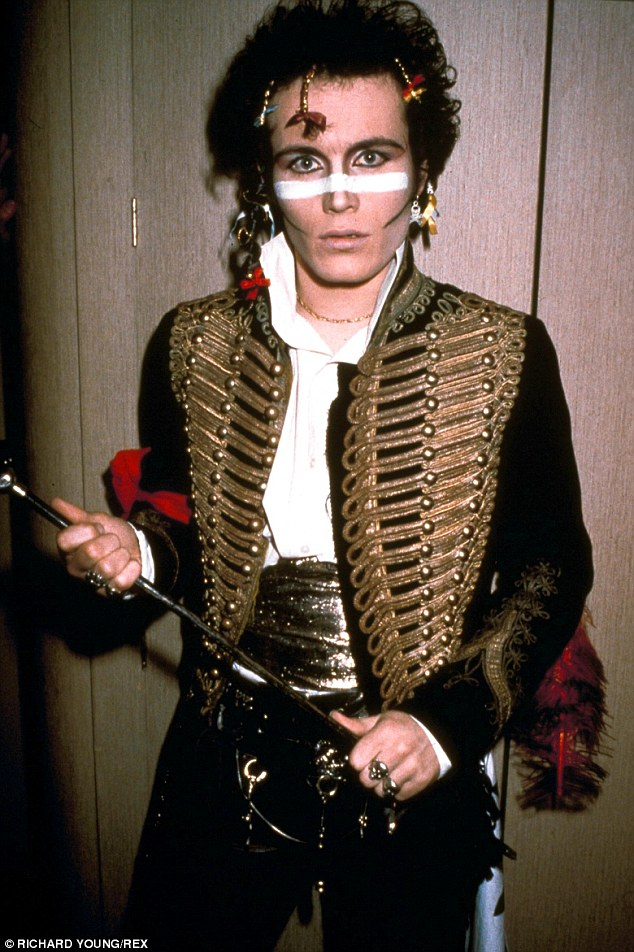 Blast from the past: Adam's look in 1981 doesn't look that much different to his style nowadays