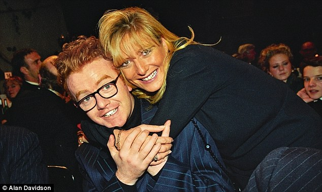 'Botox? The more you mess with your face, the more it catches up with you', says Gaby, pictured here with Chris Evans