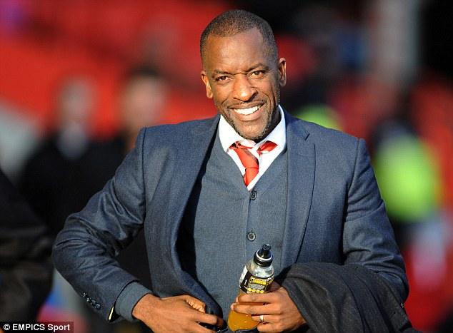 All smiles: But Chris Powell is starting to come under pressure at Charlton after winless streak