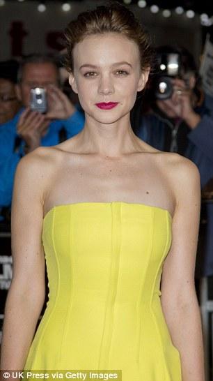 Actress Carey Mulligan
