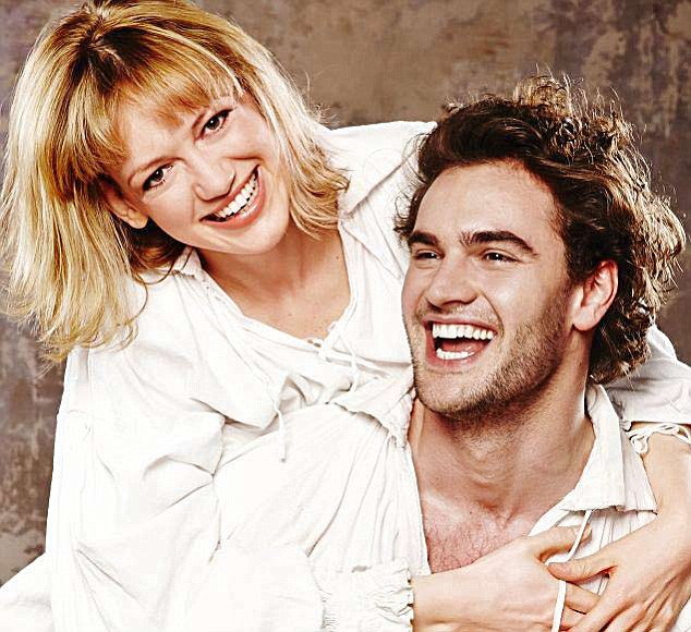 Sweet on William: Lucy Briggs-Owen and Tom Bateman