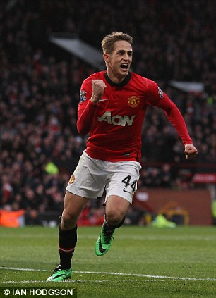 Winger: Adnan Januzaj has shown he is good enough for United's first team
