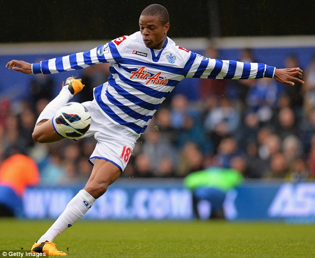 Loan Ranger: The France star is on loan at Newcastle from Championship title contenders QPR