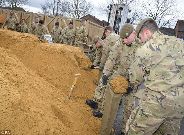 Issue: The delivery of sandbags has run into trouble, there have been slow responses from the emergency services and the clean-up is expected to cost the country many billions of pounds