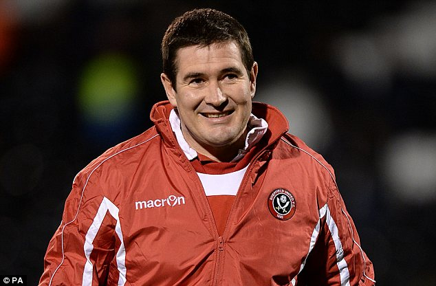 Two sides: Sheffield United manager Nigel Clough is a Forest legend