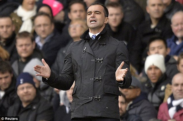 Extra spice: Everton manager Roberto Martinez faces former club Swansea