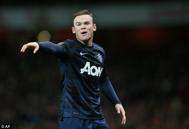 Behind the striker: Wayne Rooney is still the linchpin of the Manchester United teams