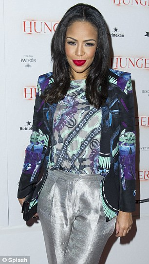 Going for it: Zara Martin and Sarah Jane Crawford offered eclectic looks at the fashionable event where the Tequila Patrón was flowing
