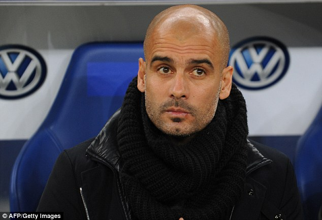 Replacement: Pep Guardiola has got off to a flying start as Bayern Munich manager