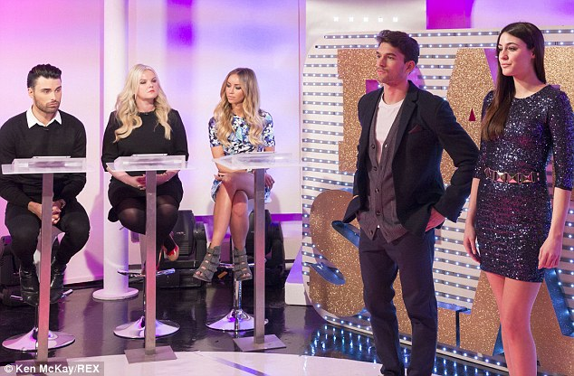 On the panel: Lauren took part in Rate Or Slate on the show - giving her opinion on fashion