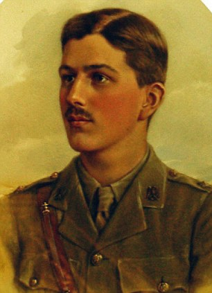 Last to fall: Hugh Cubitt of the 1st (Royal) Dragoons died in one of the last cavalry charges of what had become an increasingly mechanised war