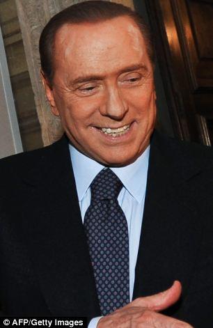 The broadcaster has previously referred to Italian prime minister Silvio Berlusconi as 'Mr Beryl Beryl'