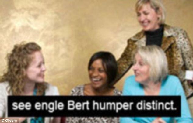 Not just the BBC: ITV has previously misquoted star Engelbert Humperdinck as 'engle Bert humper distinct'