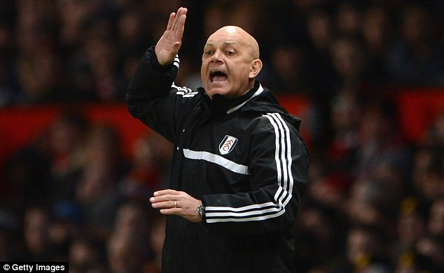 On the way? Ray Wilkins could be on the way out of Fulham just months after taking up a coaching role