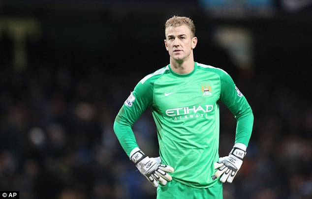 Stand by your man: Hodgson stood by Joe Hart when he suffered a dip in form earlier this season
