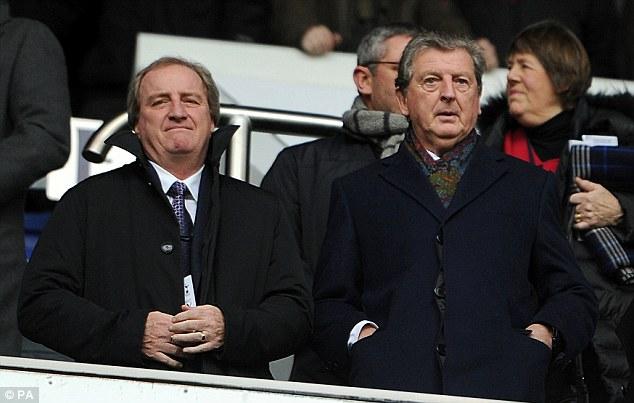 Trial: England boss Roy Hodgson will play Sturridge in the friendly against Denmark