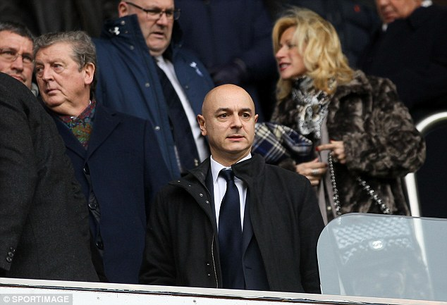 Broadside: Sherwood appeared to criticise Levy's transfer policy
