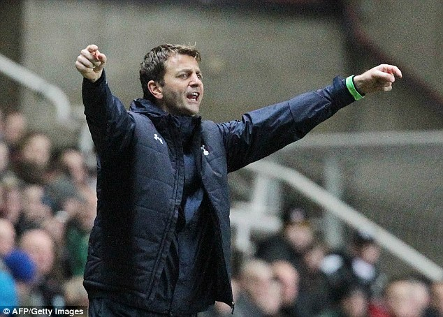 Game: Spurs boss Tim Sherwood is playing hard ball with his chairman Daniel Levy