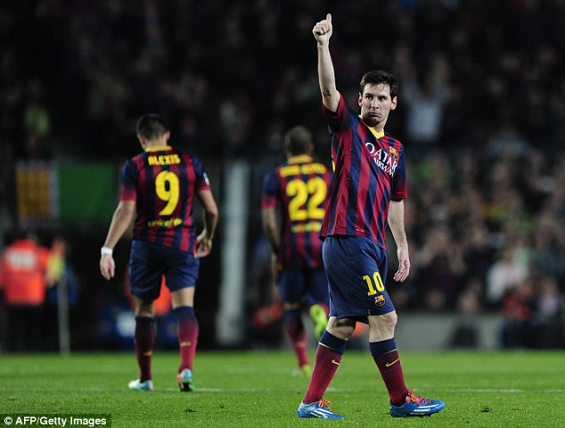 Better: Former Manchester United manager Tommy Docherty, who played with Finney at Preston, said the winger was better than Lionel Messi