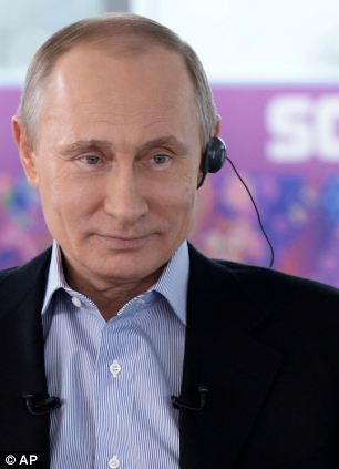 Putin has also been spotted wearing a ring on his wedding ring finger in the last week