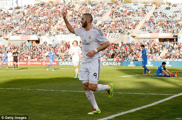 Game over: Karim Benzema doubled Real's advantage to effectively end the contesst