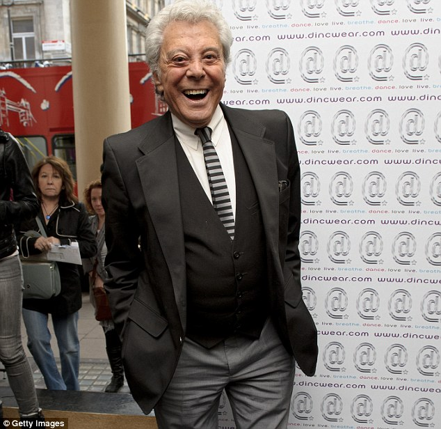 Deplorable: Happily-married Lionel Blair did not enjoy Humphrey Littleton's jibes about his sexuality