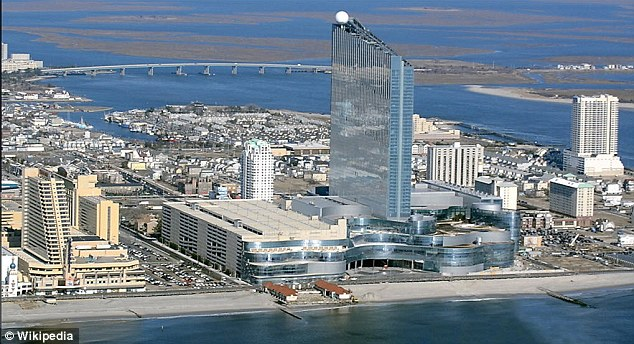 Scene of the fight: The incident took place at the Revel Casino in Atlantic City
