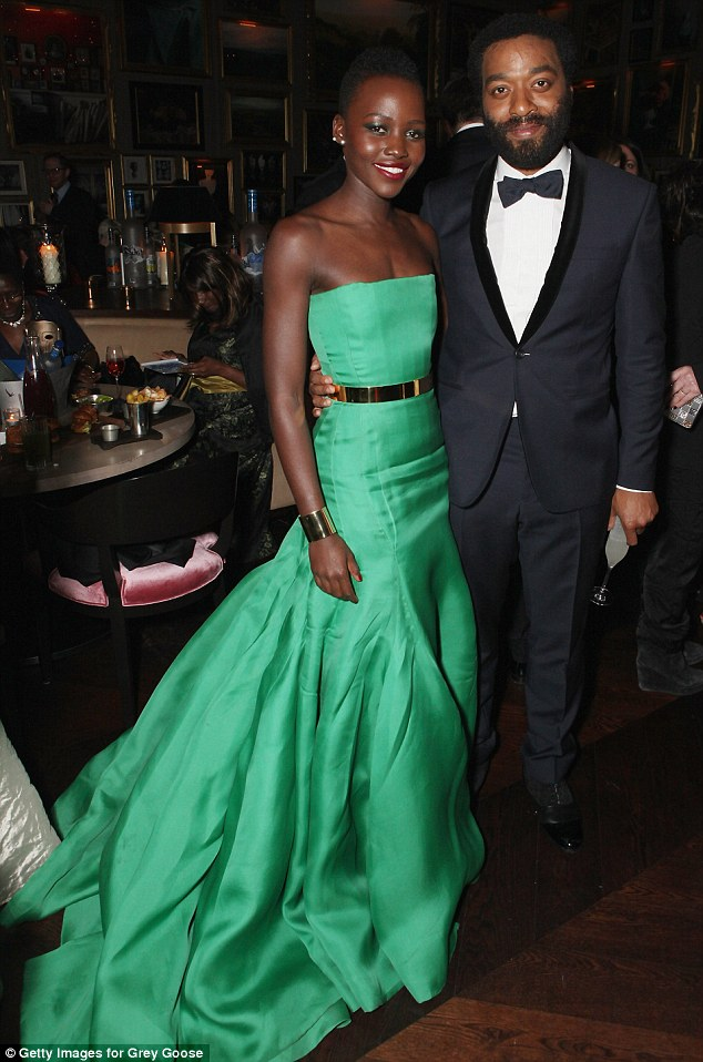 Stars: Lupita Nyong'o and Chiwetel Ejiofor were guests of honour