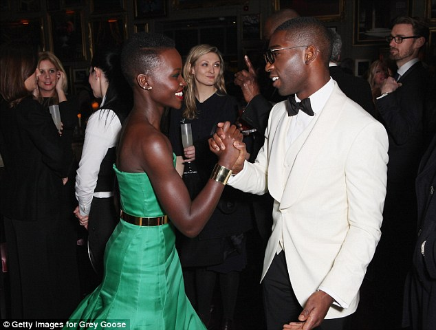 Huge fan: Tinie told Lupita how much he admired her work