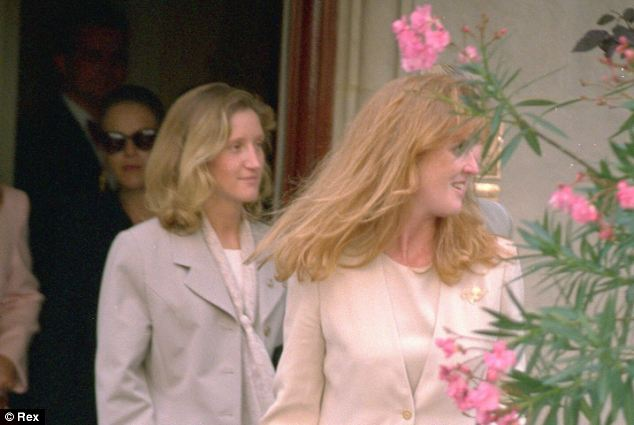 Close: Jane Andrews became a close friend and confidante of the Duchess of York during nine years as her employee - joining her on royal duties both in the UK and abroad
