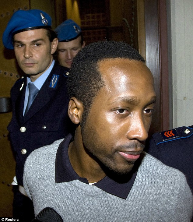 Rudy Guede from the Ivory Coast was sentenced to 30 years in prison for Meredith's murder but later had his sentence reduced